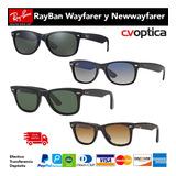 Gafas Ray Ban Wayfarer Y Newwayfarer 100% Originales