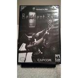 Resident Evil 1 Nintendo Gamecube Original 2 Discos