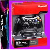 Xbox 360 Control Microsoft Con Adaptador Pc Nuevo Original