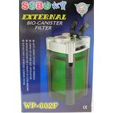 Filtro Canister Wp-002f Para Acuarios  Hasta 500 Litros