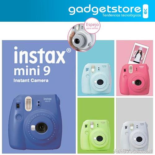 Fujifilm Instax Mini 9 Camara Instantanea Imprime Fotos