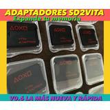 Adaptadores Sd2vita V7.0 Psvita Para Juegos Y Usar Micro Sd