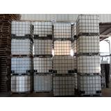 Tanque / Cisterna / Ibc  De 1000 Lts Para Alimentos / Usado