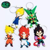 Llaveros Dragon Ball Goku Cell Vegito Gogeta Y Vegeta