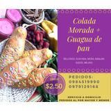 Colada Morada Y Guaguas De Pan.