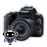 Canon Sl3 = T7i + G R A T I S + Tripode + Maleta + 128 G B !