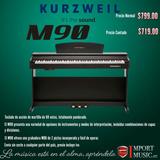 Piano Kurzweil M90 Cafe O Blanco: 20 Modelos Mas Disponibles