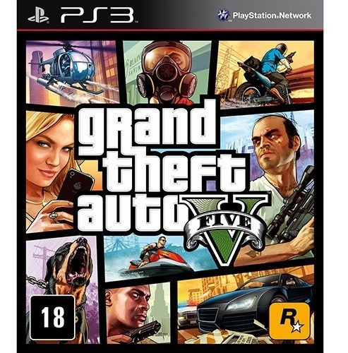Grand Theft Auto 5 - Gta V - Para Ps3 - Digital - Promoción