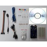 Kit Arduino Mega 2560 R3, Ch340 Con Base Acrilica Protoboard