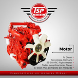 Motor  Isuzu Npr 4bd1-t  Completo/camion
