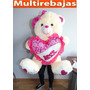 Peluches Gigantes Con Corazon Musical Y Luces Led De 80cm