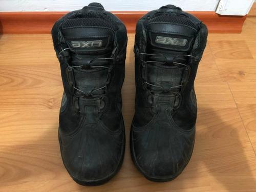 11a33c23 Zapatos Para Moto Axo En Perfecto Estado Talla 42 Tipo Botin