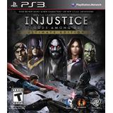 Injustice Gods Among Us Ultimate Edition - Para Ps3 Digital