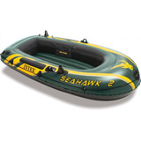 Bote Inflable Intex Seahawk + Remos