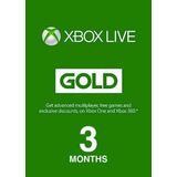 Xbox Live, Tarjeta Prepago, 3 Meses