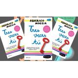 Tres Veces Tú - Federico Moccia Libro Nuevo