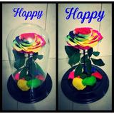 Rosa Eterna Happy 6 Colores
