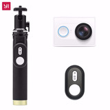 Xiaomi Yi Camara Travel Kit 16mp 2k + Monopod + Control
