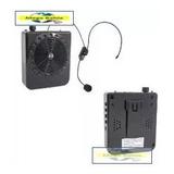 Megáfono Portatil Mp3 Usb Sd Fm Radio