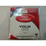 Cuerdas Red Label De Violin N° 4/4 (juego)