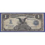 Fantástico Billete De Un Dólar 1899 Black Eagle Con Estrella
