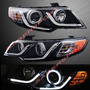 Faros Angel Eyes- Led Kia Cerato Forte Koup