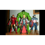 Figuras De Accion Marvel Avengers Dc La Liga De La Justicia