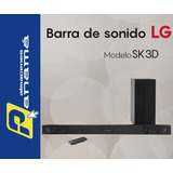 Barra De Sonido Lg Bluetooth + Subwoffer Wireless + Soporte