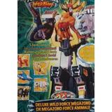 Megazord Power Rangers Wild Force, Bandai.
