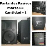 Parlantes, Micrófonos, Parales, Consola 16 Canales