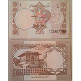 Billetes Mundiales Pakistan 1 Rupia Nueva Billete