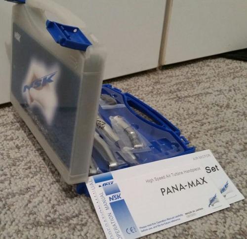 Original Nsk Push Kit Odontologico Dental 2 Turbinas Panamax