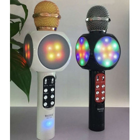 Microfono Led Bluetooth Con Radio Fm Pendrive Sd Y Mas