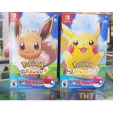 Pokemon Lets Go Pikachu Switch