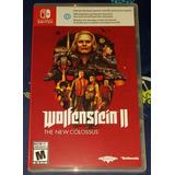 Wolfenstein 2 Switch - Nuevos Y Sellados