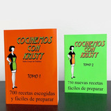 Libros Cocinemos Con Kristy - Tomo 1 Ó Tomo 2