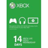 Membresias 14 Dias Xbox Live Gold Para Xbox 360 / One Codigo