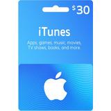App Store Y Itunes 30 Usd Tarjeta De Regalo
