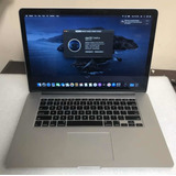 Macbook Pro Retina Core I7 16gb Ram 15 500gb Solido Catalina