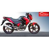 Moto Super Ninja Ranger Bs200-6, 200cc Año2018 Negro,rojo,bl