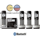 Panasonic S/c Teléfono Inalámbrico 4 Bases Bluetooth Contes