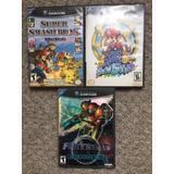 Juegos Gamecube Super Smash Melee Mario Sunshine Metroid