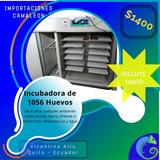 Incubadora Industrial 1056 Huevos, Volteo Automático Nueva