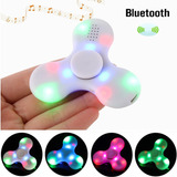 Spinner Luz Led Y Parlante Bluetooth Musica
