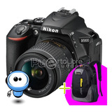 Nikon D5600 24.2mp Touch - Wifi + Lente + Maleta + Memoria !