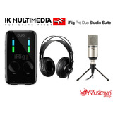 Ik Multimedia Irig Pro Duo Studio Suite - Pack