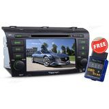 Radio Mazda 3 2002-2014 Original Gps Wifi 3g Dvd Android 8.0