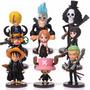 Set De 9 Figuras De One Piece Anime De Colección