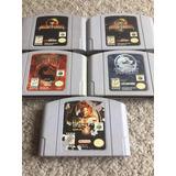 Juego Nintendo 64 Mortal Kombat Killer Instinct