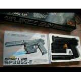Airsoft Bbs 6mm Model 3-arm Sp3855 Alpha Gun Series
